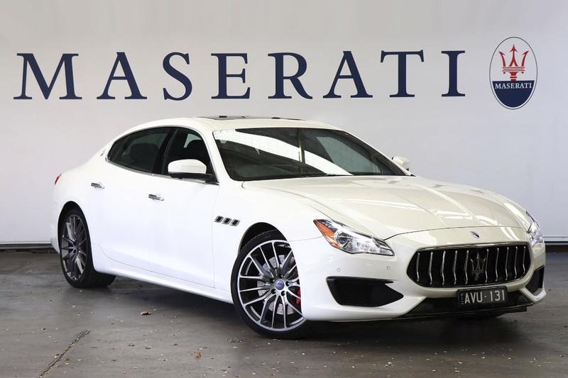 2017 Maserati Quattroporte Gts Gransport Sports Automatic