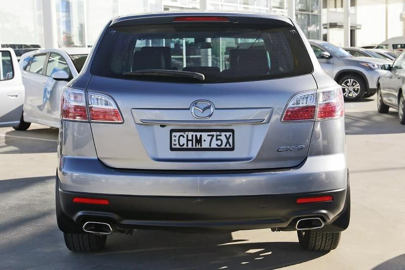 MAZDA CX-9 Luxury TB Series 3 Luxury Wagon 7st 5dr Spts Auto 6sp 4WD 3.7i (+Sat Nav) [MY10]