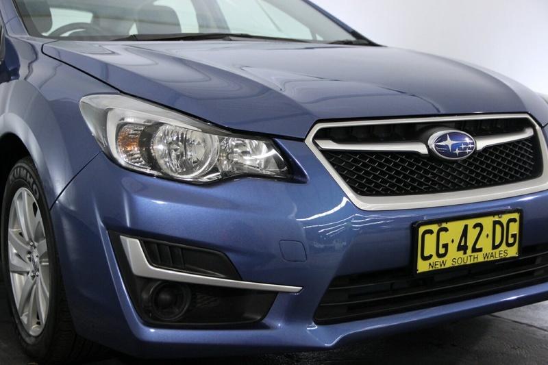 SUBARU IMPREZA 2.0i G4 2.0i. Hatchback 5dr Lineartronic 6sp AWD [MY14]