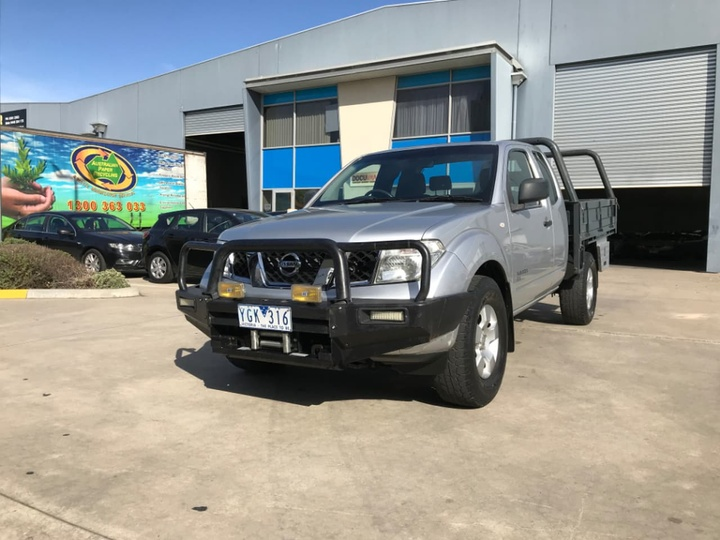 NISSAN NAVARA RX D40 RX Cab Chassis King Cab 4dr Auto 5sp 4x4 2.5DT [MY11]