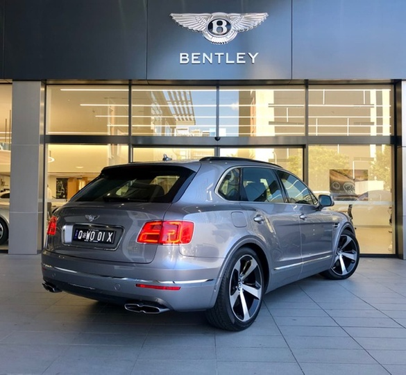 Dodge Dealer In Cookeville Tn: 2018 BENTLEY BENTAYGA Sports Automatic