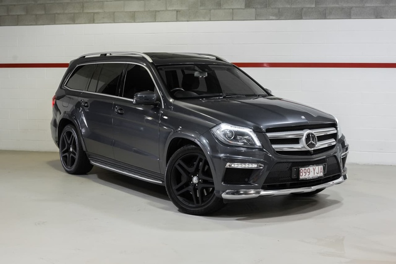 MERCEDES-BENZ GL500  X166 Wagon 7st 5dr 7G-TRONIC + 7sp 4x4 4.7TT (Dec)