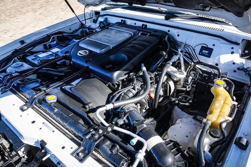 NISSAN PATROL ST GU 7 ST Wagon 7st 5dr Man 5sp 4x4 3.0DT [MY10]