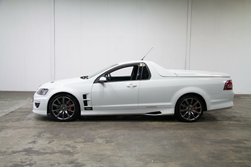 HOLDEN SPECIAL VEHICLES MALOO R8 E Series 3 R8 Utility Extended Cab 2dr Man 6sp 6.2i [MY12]