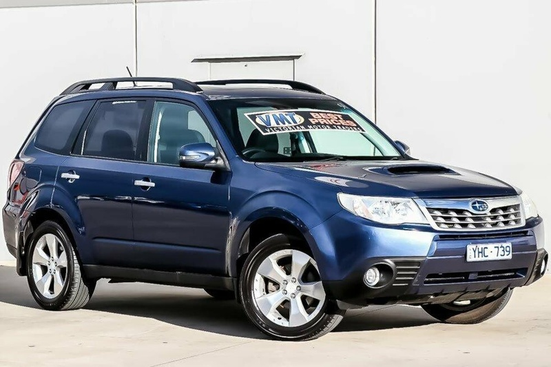 SUBARU FORESTER 2.0D S3 2.0D. Wagon 5dr Man 6sp AWD 2.0DT [MY11]