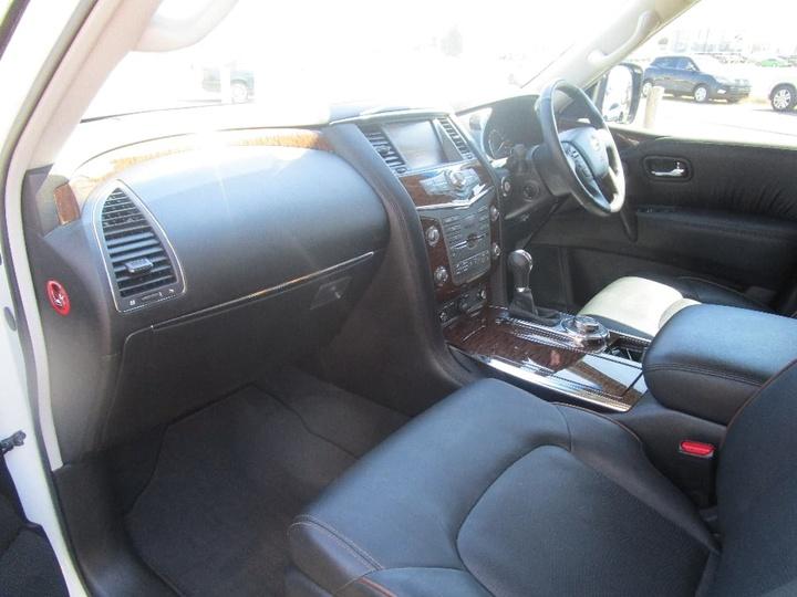 NISSAN PATROL Ti-L Y62 Series 3 Ti-L Wagon 7st 5dr Spts Auto 7sp 4x4 5.6i [Feb]