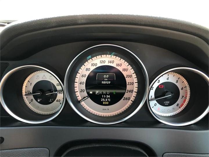 MERCEDES-BENZ C250 BlueEFFICIENCY W204 BlueEFFICIENCY Elegance Sedan 4dr 7G-TRONIC + 7sp 1.8T [MY12]