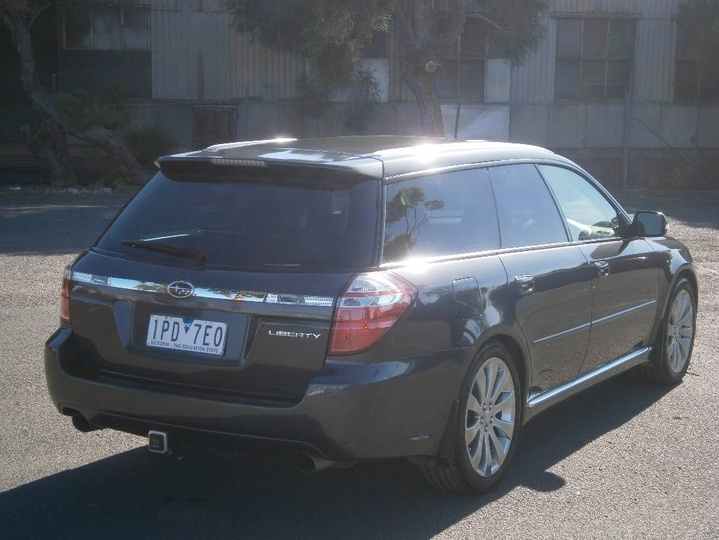 SUBARU LIBERTY 3.0R 4GEN 3.0R Spec.B. Wagon 5dr Man 6sp AWD 3.0i [MY07]