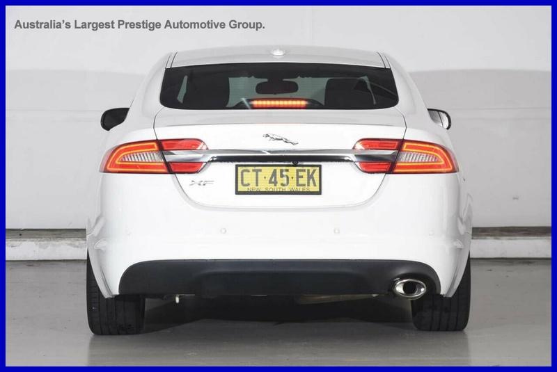 JAGUAR XF Luxury X250 Luxury Sedan 4dr Spts Auto 8sp 2.2DT [MY12]