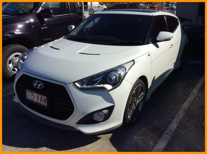 HYUNDAI VELOSTER SR FS4 Series II SR Turbo + Coupe 4dr D-CT 7sp 1.6T [Dec]