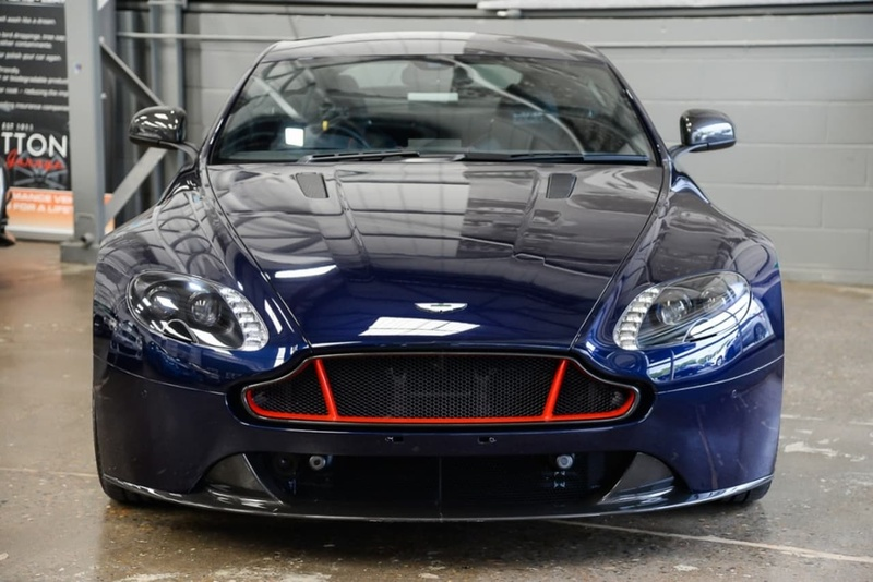 ASTON MARTIN V8 Vantage S Vantage S Red Bull Racing Edition Coupe 2dr Sportshift II 7sp 4.7i [MY17.5]