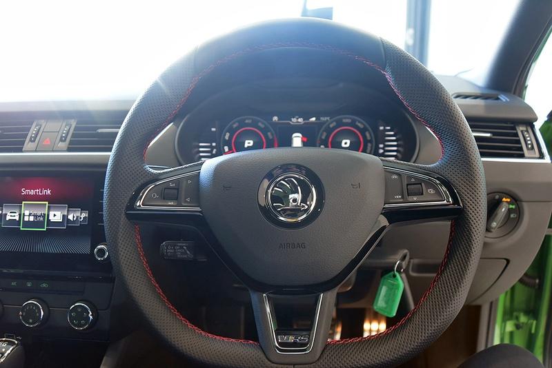 SKODA OCTAVIA RS NE RS 180TSI Wagon 5dr DSG 7sp 2.0T [MY19]