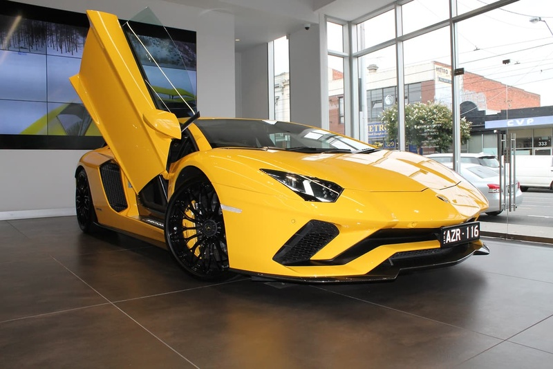2017 Lamborghini Aventador S Sports Automatic Single Clutch