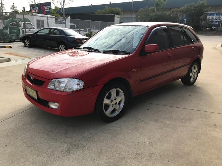 MAZDA 323 Astina BJ Astina Hatchback 5dr Man 5sp 1.8i