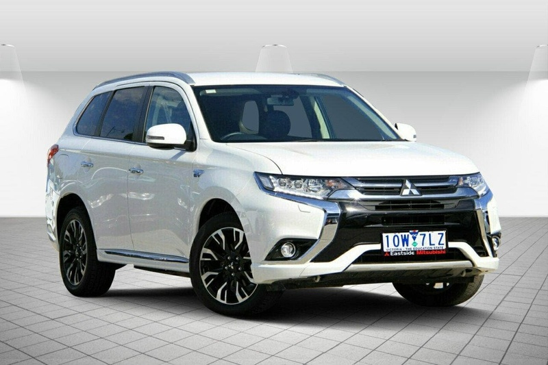 Mitsubishi Outlander Phev Zk Ls Wagon 5dr Auto 1sp Awd 2 0i 60kw Hybrid