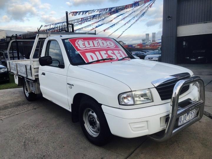 MAZDA BT-50 DX B2500 DX Cab Chassis Single Cab 2dr Man 5sp 4x2 2.5DT (3st)