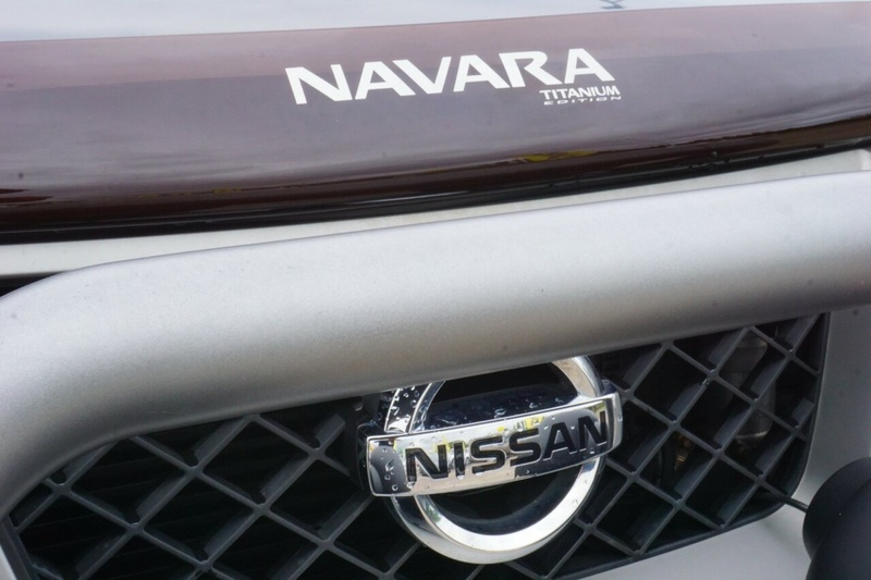 NISSAN NAVARA Titanium D40 Series 7 Titanium Utility Dual Cab 4dr Spts Auto 5sp 4x4 2.5DT