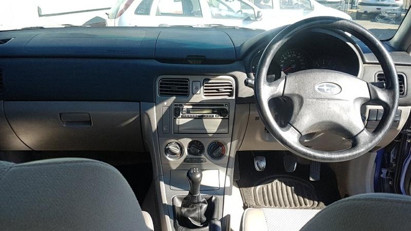 SUBARU FORESTER X 79V X. Wagon 5dr Man 5sp AWD 2.5i [MY04]