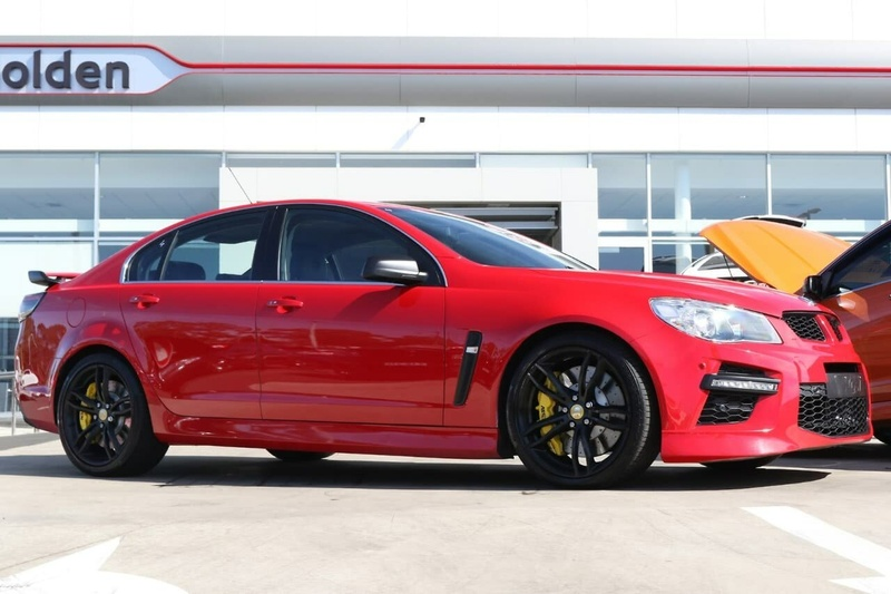 HOLDEN SPECIAL VEHICLES GTS  GEN-F Sedan 4dr Spts Auto 6sp 6.2SC [MY15]