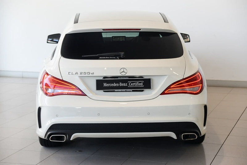 MERCEDES-BENZ CLA200 CDI  X117 Shooting Brake 5dr DCT 7sp 2.1DT