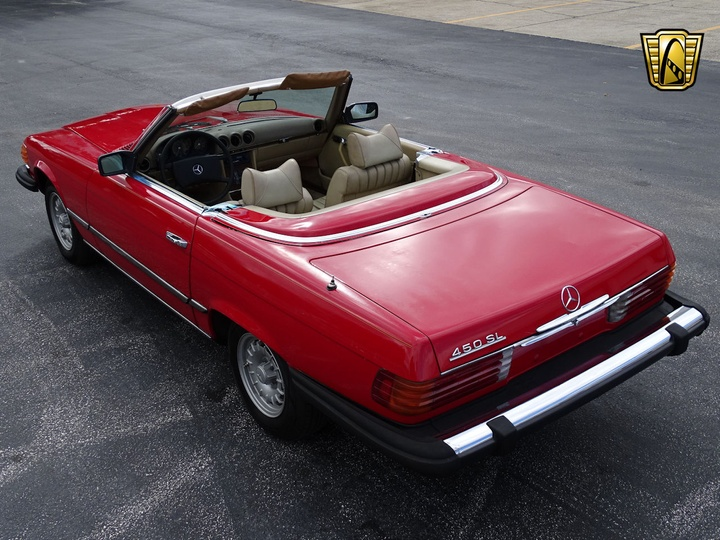 MERCEDES-BENZ 450SL