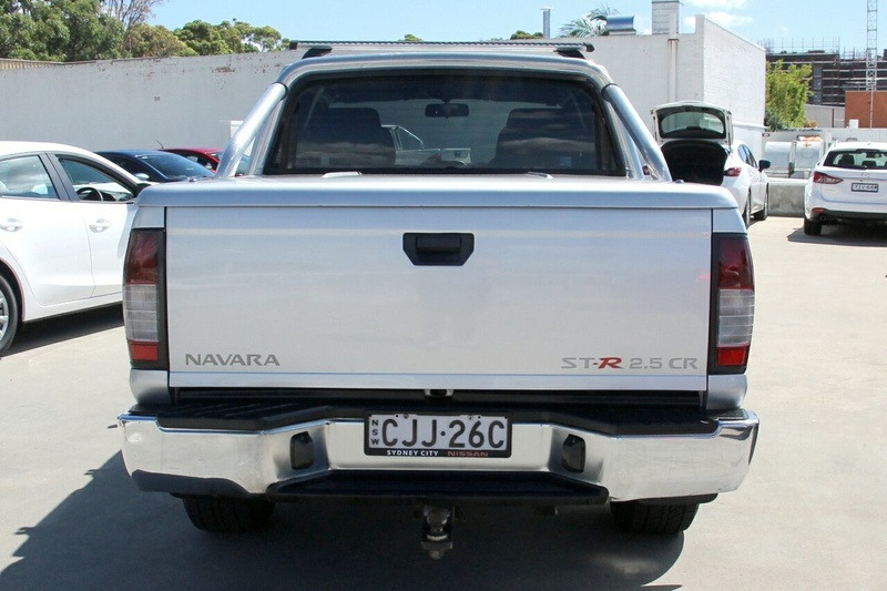 NISSAN NAVARA ST-R D22 ST-R Special Edition Utility Dual Cab 4dr Man 5sp 4x4 2.5DT [MY12]