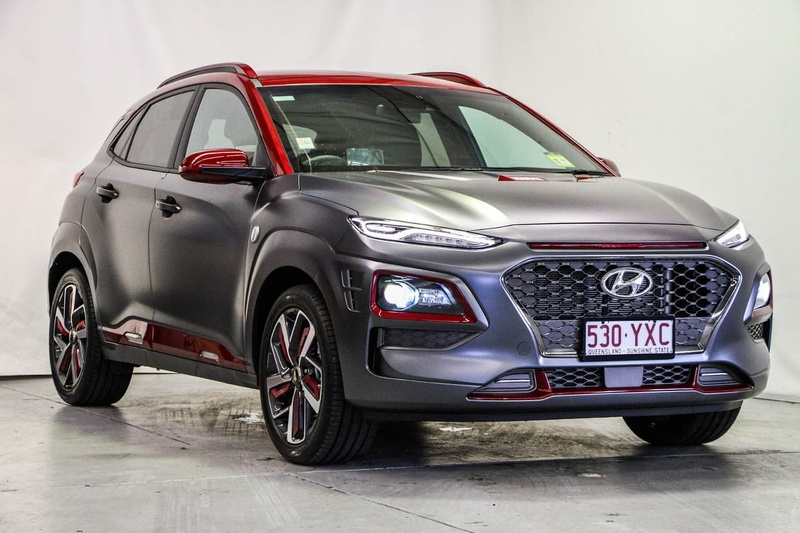 HYUNDAI KONA Iron Man Edition OS.2 Iron Man Edition Wagon 5dr D-CT 7sp AWD 1.6T [MY19]