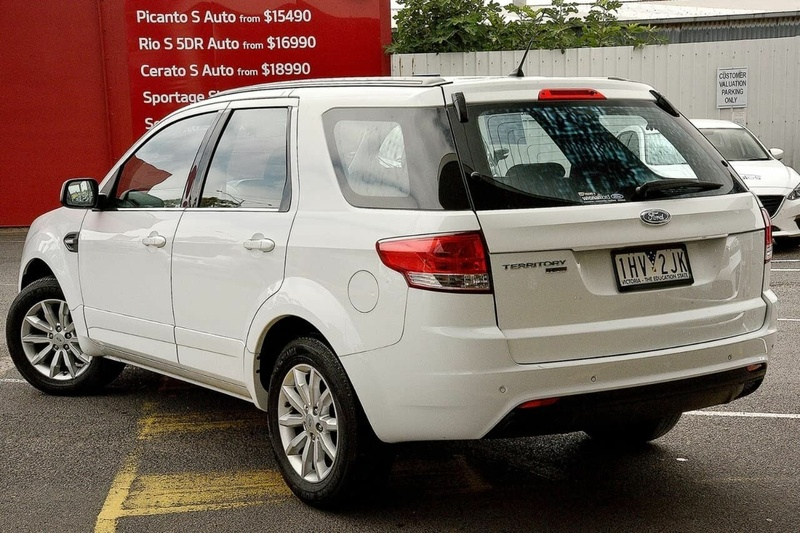 FORD TERRITORY TX SZ MkII TX Wagon 5dr Seq Sport Shift 6sp 2.7DT