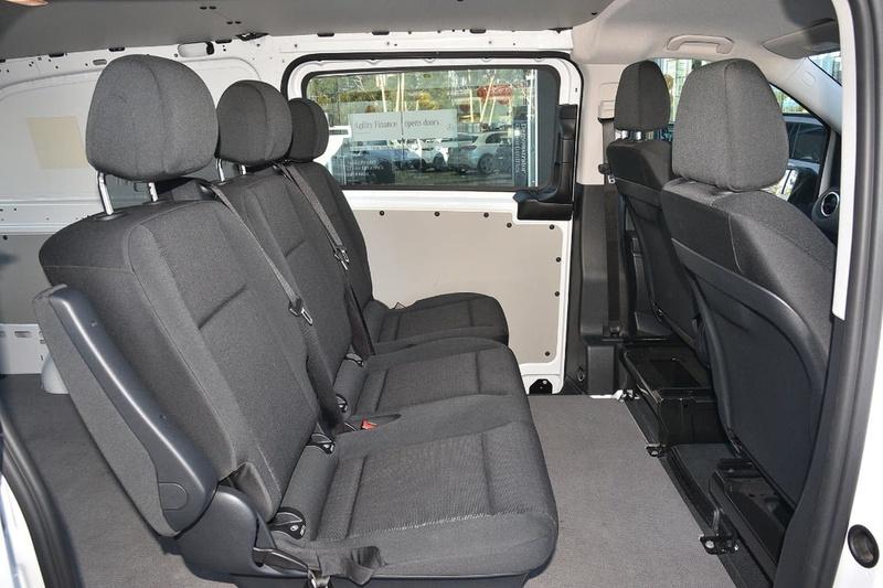 MERCEDES-BENZ VITO 114BlueTEC 447 114BlueTEC Van Crew Cab LWB 5dr 7G-TRONIC + 7sp 2.1DT