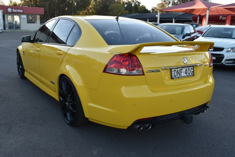 HOLDEN COMMODORE SS VE Series II SS Sedan 4dr Spts Auto 6sp 6.0i [MY12]