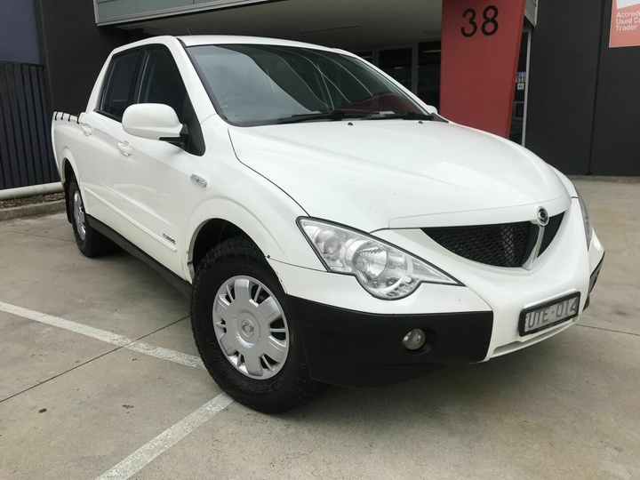 SSANGYONG ACTYON SPORTS Sports 100 Series Sports Limited Utility Dual Cab 4dr Man 5sp 4x4 2.0DT [Mar]