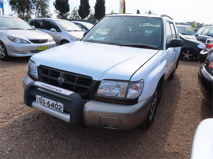 SUBARU FORESTER GT 79V GT. Wagon 5dr Auto 4sp AWD 2.0T [MY00]
