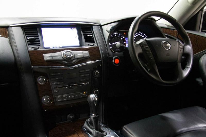 NISSAN PATROL Ti Y62 Ti Wagon 8st 5dr Spts Auto 7sp 4x4 5.6i [MY15]