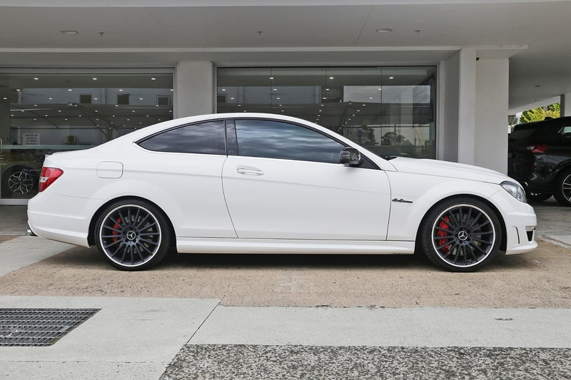 MERCEDES-BENZ C63 AMG C204 AMG Coupe 2dr SPEEDSHIFT MCT 7sp 6.3i [MY13]