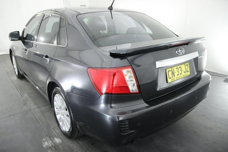 SUBARU IMPREZA R G3 R. Sedan 4dr Spts Auto 4sp AWD 2.0i [MY09]