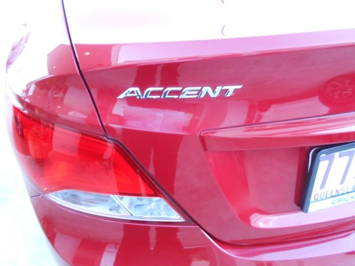 HYUNDAI ACCENT Active RB3 Active Sedan 4dr CVT 6sp 1.4i (CD Player) [MY16]