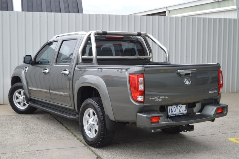 GREAT WALL STEED  NBP Utility Dual Cab 4dr Man 6sp 4x4 2.0DT [Jul]