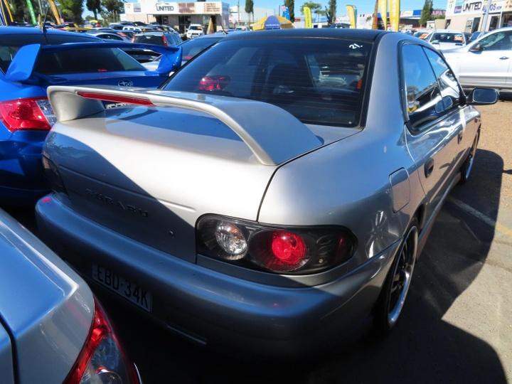SUBARU IMPREZA WRX N WRX. Sedan 4dr Auto 4sp AWD 2.0T [MY99]