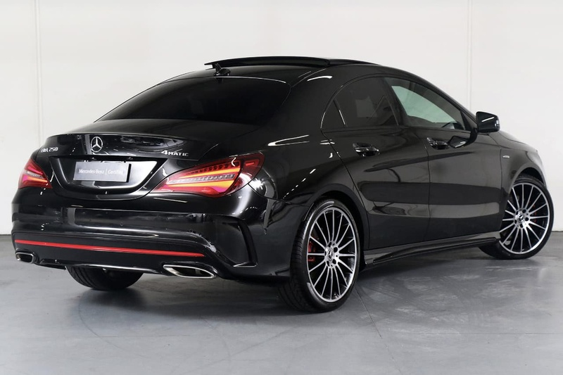 MERCEDES-BENZ CLA250 Sport C117 Sport Coupe 4dr DCT 7sp 4MATIC 2.0T