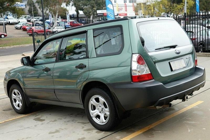 SUBARU FORESTER X 79V X. Wagon 5dr Auto 4sp AWD 2.5i [MY08]