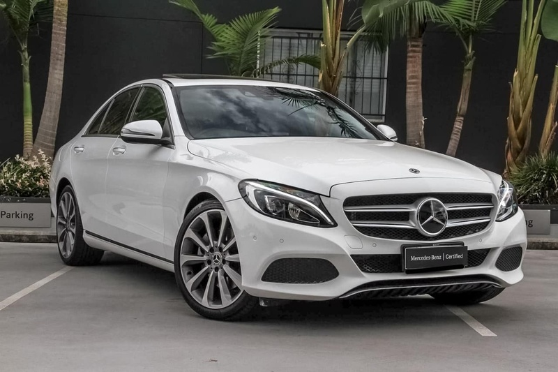 Mercedes Benz C300 W205 Sedan 4dr 9g Tronic 9sp 2 0t Jun
