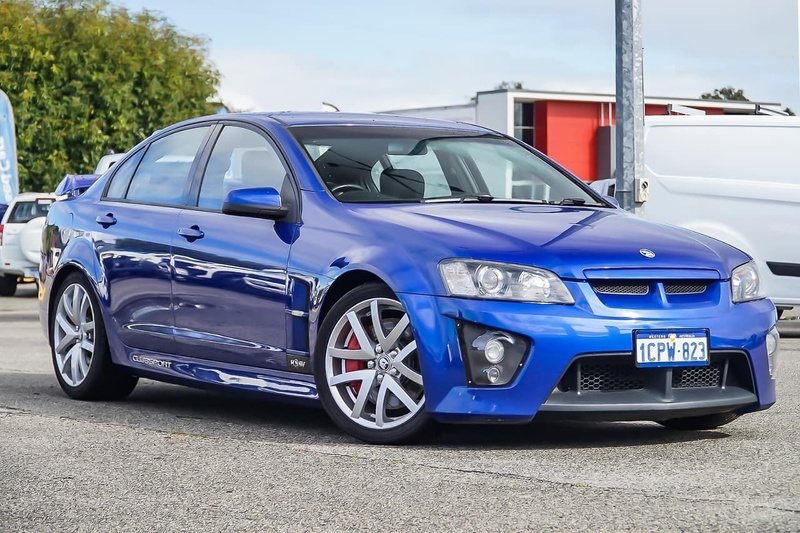 HOLDEN SPECIAL VEHICLES CLUBSPORT R8 E Series R8 Sedan 4dr Man 6sp 6.0i [Aug]