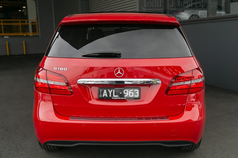 MERCEDES-BENZ B180  W246 Hatchback 5dr DCT 7sp 1.6T