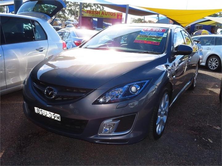 MAZDA 6 Luxury Sports GH Series 1 Luxury Sports Hatchback 5dr Spts Auto 5sp 2.5i [Feb]