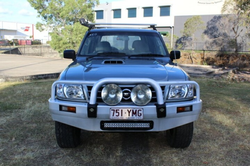 NISSAN PATROL ST GU III ST Wagon 7st 5dr Auto 4sp 4x4 3.0DT [MY02]