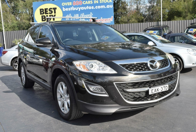 MAZDA CX-9 Classic TB Series 5 Classic Wagon 7st 5dr Activematic 6sp 3.7i (FWD) [Dec]