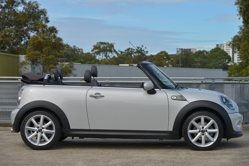2015 Mini Cabrio Cooper Highgate Sports Automatic