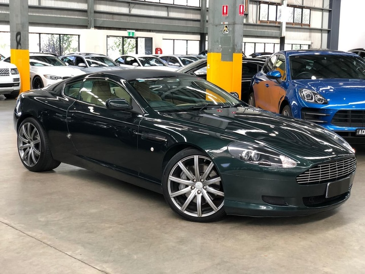 ASTON MARTIN DB9  Coupe 2dr Spts Auto 6sp 5.9i [MY06]