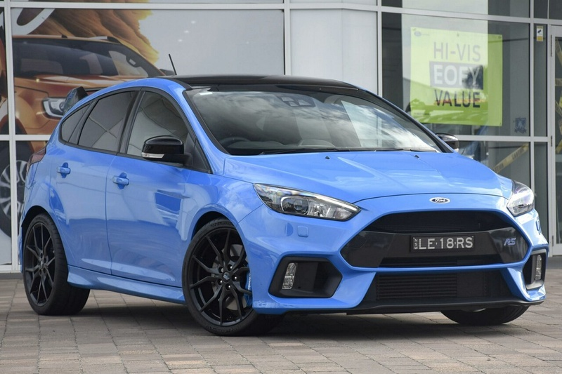 Ford Focus Awd >> 2018 Ford Focus Rs