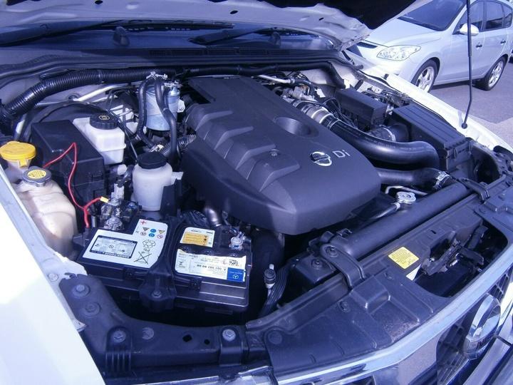 NISSAN NAVARA ST-X D40 ST-X Utility Dual Cab 4dr Auto 5sp 4x4 2.5DT